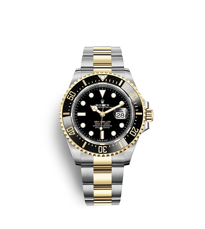 Rolex Sea Dweller, Oyster, 42 mm, white gold