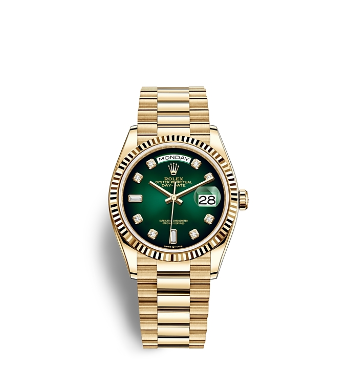 Rolex Day Date 36, Oyster, 36 mm, yellow gold