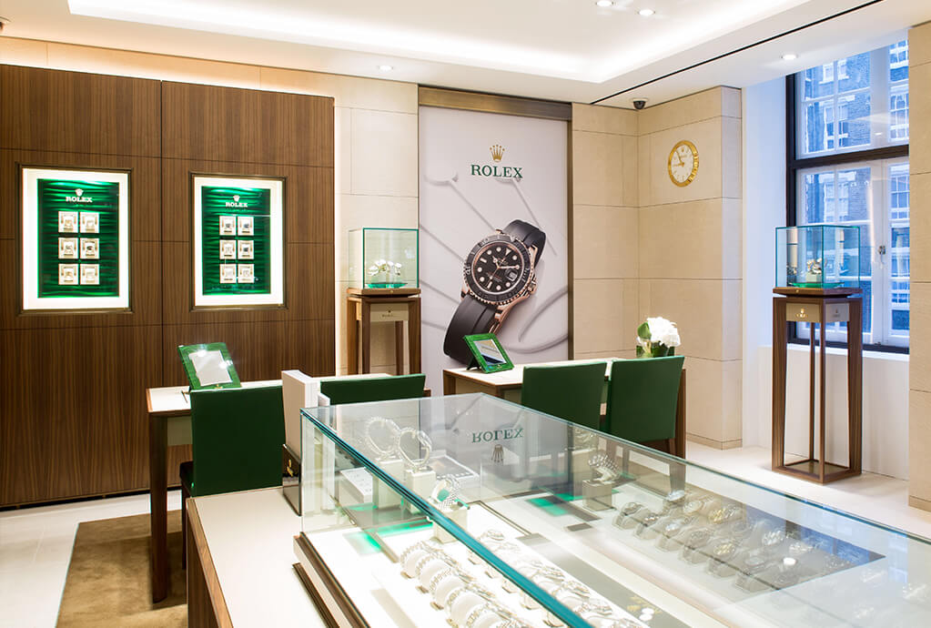 WOS Regent Street - Rolex Section